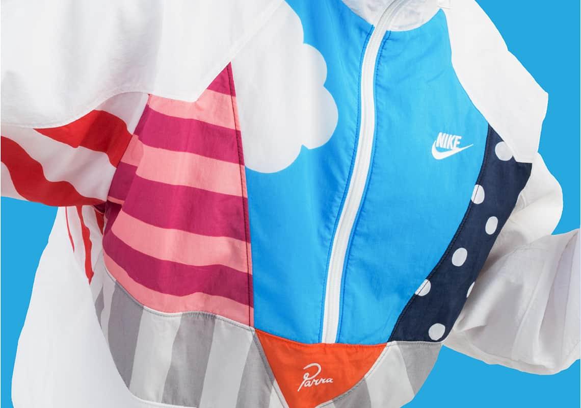 Parra x Nike tracksuit jacket