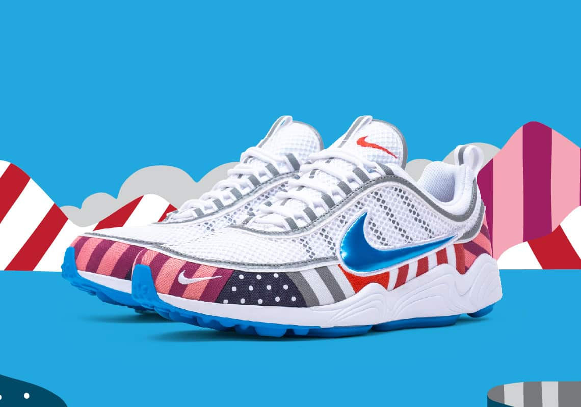 Parra x Nike Zoom Spiridon