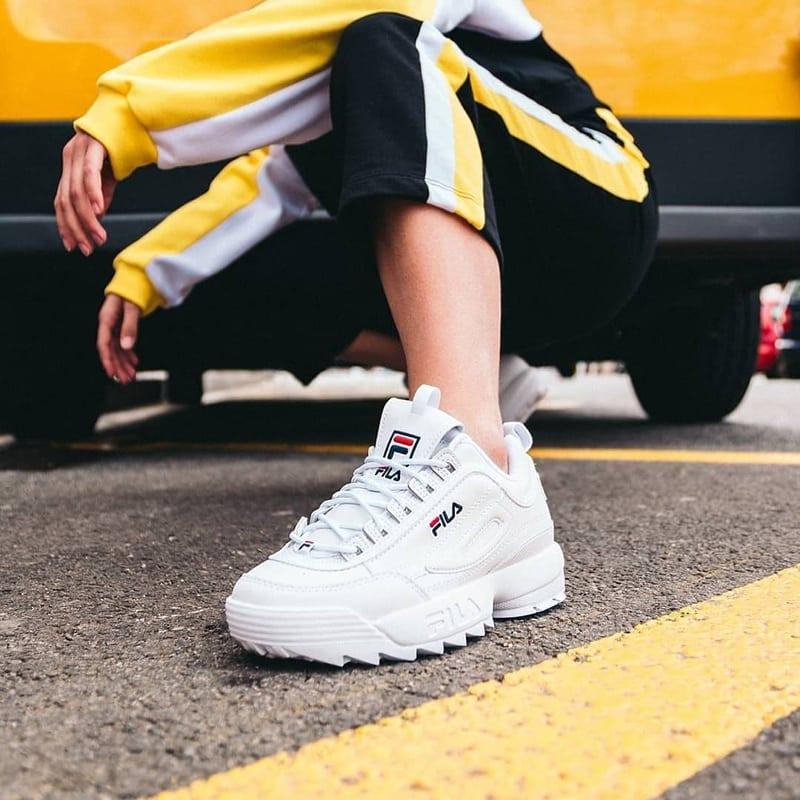 Look sportswear femme - FILA Disruptor