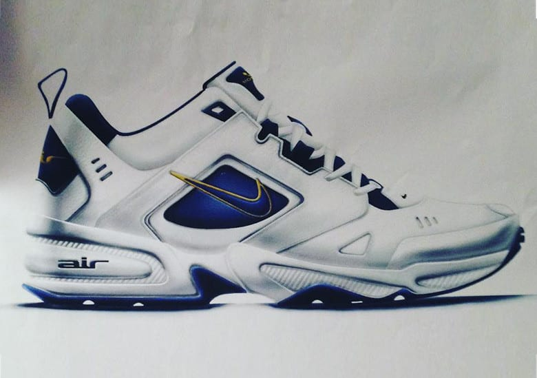 Nike Air Monarch II - Sketch by Jason Mayden