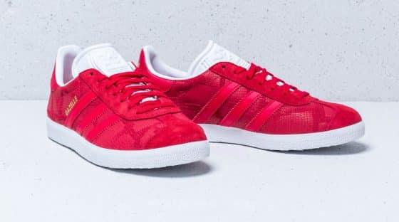 adidas Gazelle ''Snakeskin'' rouge