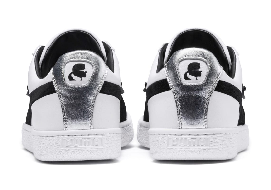 Karl Lagerfeld x PUMA Suede 50th anniversary Sneaker Style