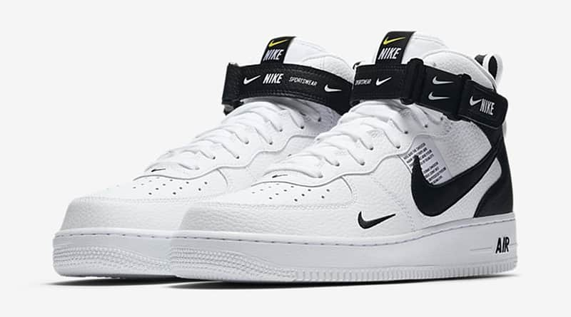 nike air force 1 utility blanche