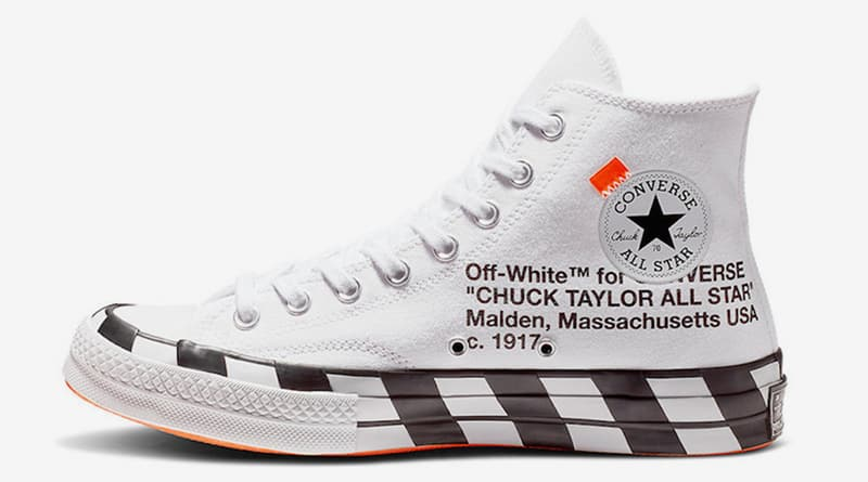 b4aabe1ce03 Off-White x Converse Chuck 70   Stripe White   - Sneaker Style