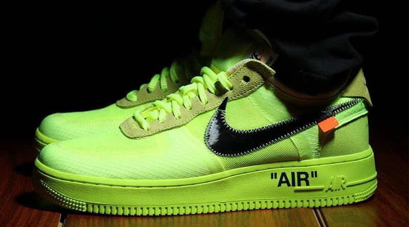 air force 1 signe jaune