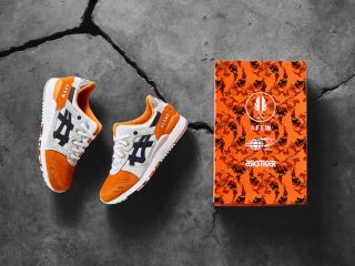 Afew x BEAMS x ASICS Gel Lyte III ''Orange KOI''