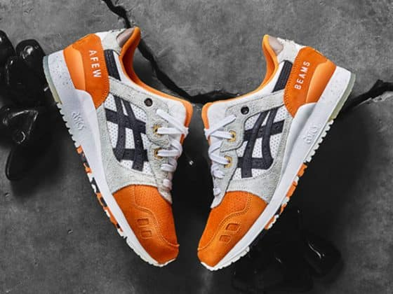 Afew x BEAMS x ASICS GEL-Lyte III ''Orange KOI''