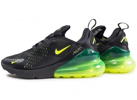Nike Air Max 270 noire volt