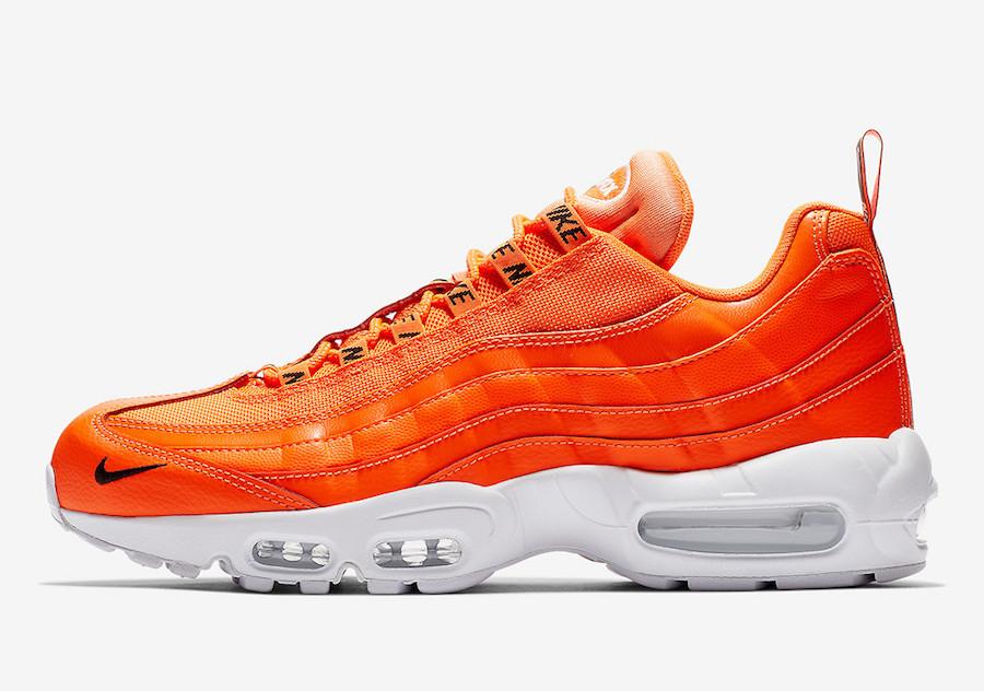 Nike Air Max 95 Premium ''Total Orange'' Sneaker Style