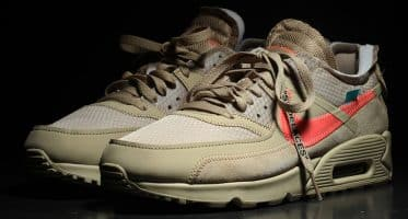 Off-WhiteNike Air Max 90 ''Desert Ore''