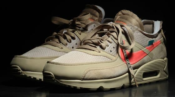 Off-White x Nike Air Max 90 ''Desert Ore''
