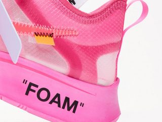 Off-White x Nike Zoom Fly SP ''Pink''