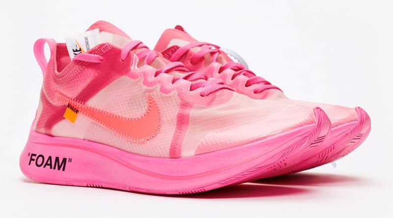Off White x Nike Zoom Fly SP ''Pink'' Sneaker Style