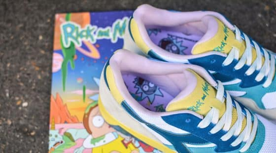 Rick and Morty x Diadora