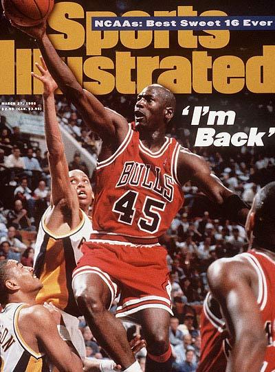 Sports Ilustrated - Michael Jordan - I'm back