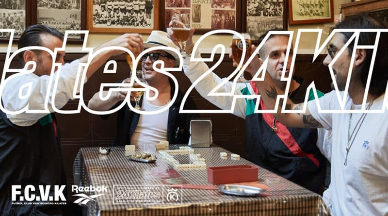 24 Kilates x Reebok Classic Nylon ''F.C.V.K.'' II