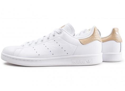 adidas Stan Smith blanche et beige