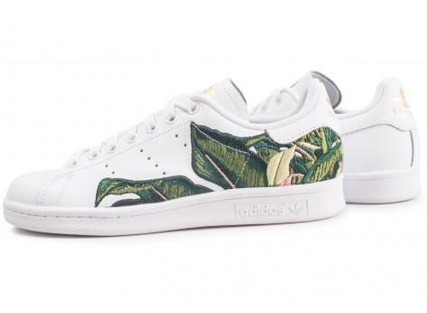 adidas Stan Smith The Farm Company blanche et verte femme