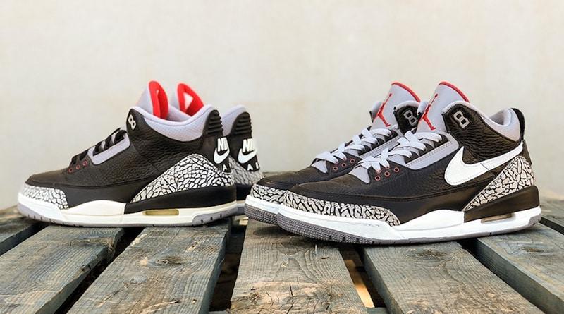 Air Jordan 3 Tinker ''Black Cement'' Sneaker Style