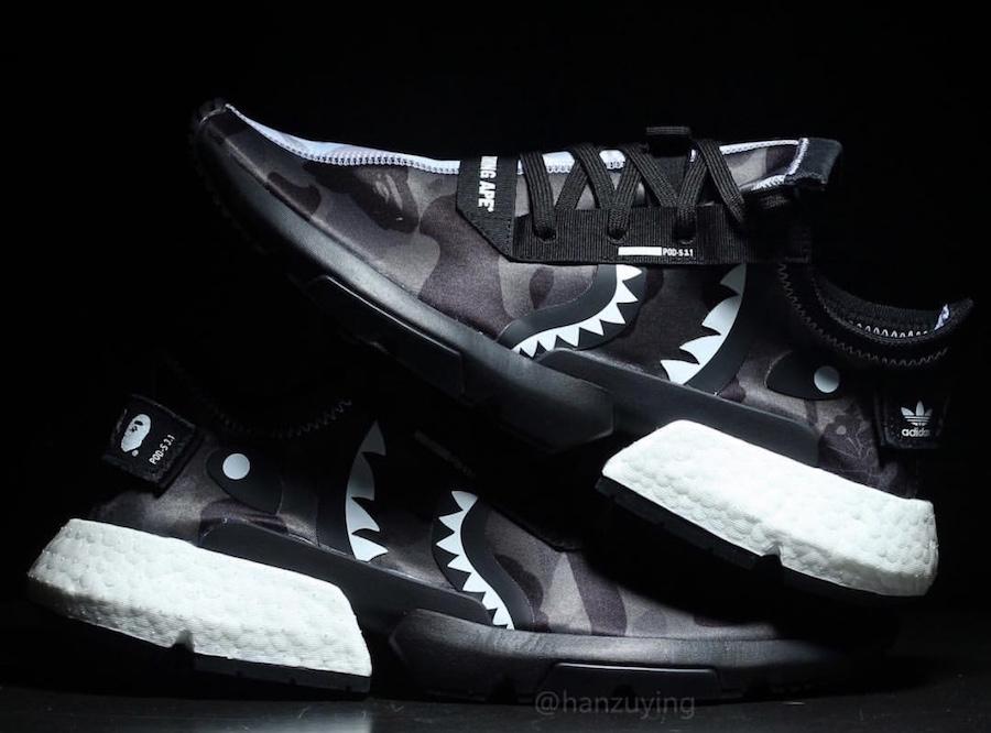 BAPE x Neighborhood x adidas POD S3.1 Le Site de la Sneaker