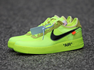 Off-White x Nike Air Force 1 Low ''Volt''