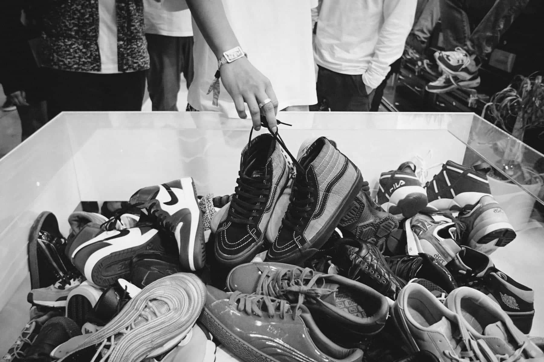 Baskets en soldes