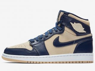Air Jordan 1 Mid Retro Premium ''Light Cream''