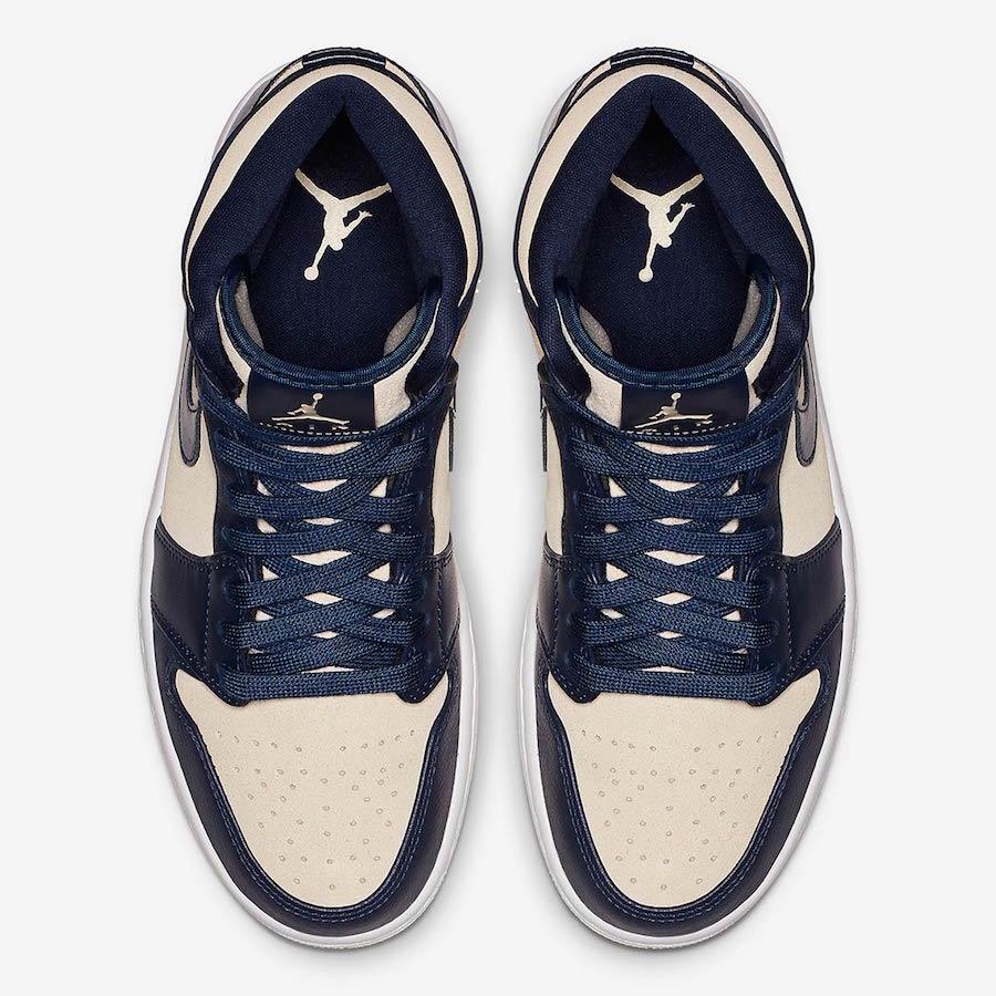 Air Jordan 1 Mid Retro Premium ''Light Cream''