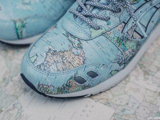 atmos x ASICS Gel-Lyte III Worldmap