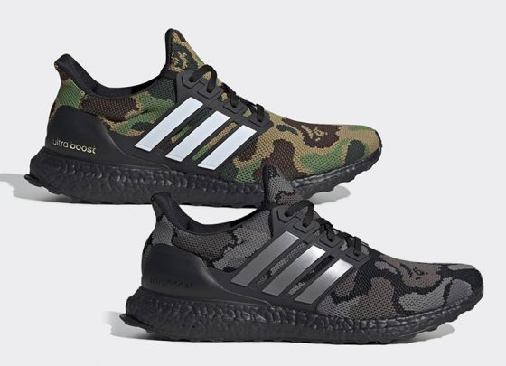 BAPE x adidas Originals Ultraboost ''Camo'' Pack