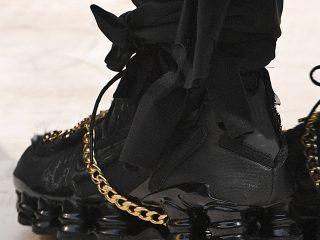 Comme Des Garçons x Nike Shox - Black
