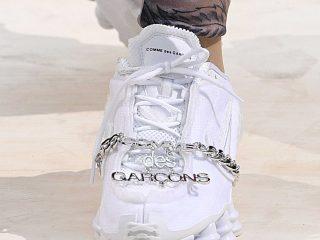 Comme Des Garçons x Nike Shox - White