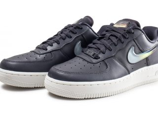 Nike Air Force 1 ''Jelly Swoosh'' Noire