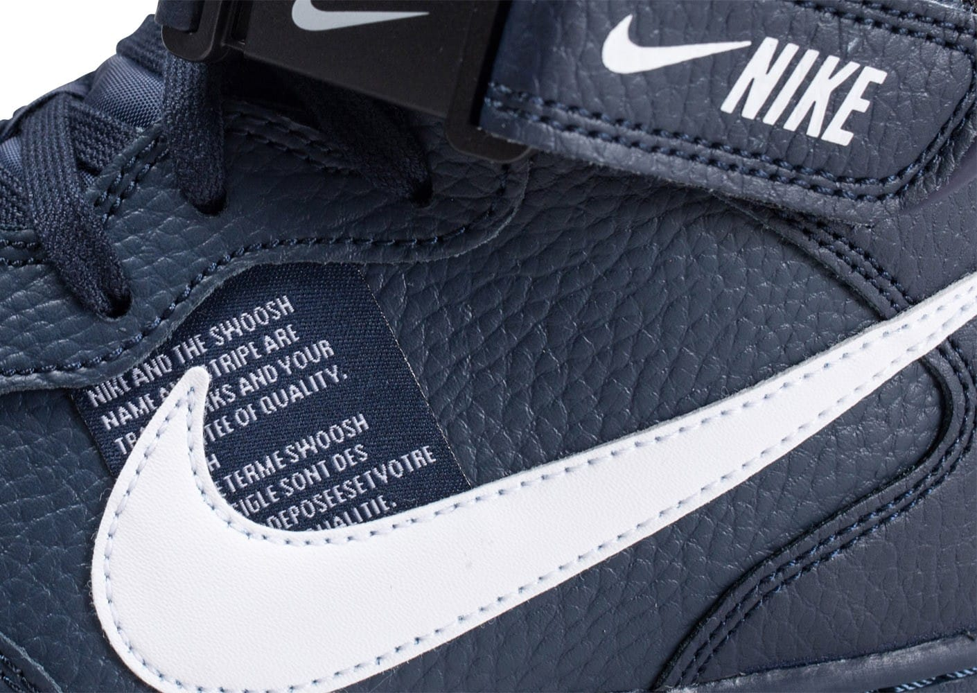 Nike Air Force 1 Mid '07 LV8 Utility ''Obsidian'' Sneaker