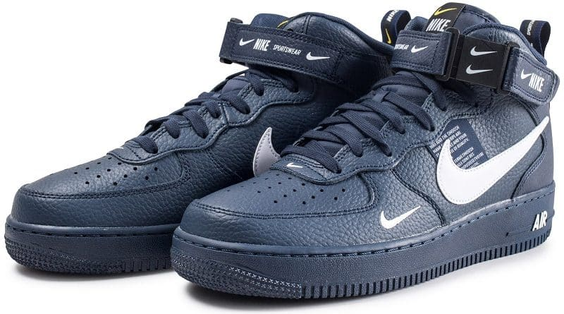 brand new 1794e 35f02 Nike Air Force 1 Mid 07 LV8 Utility Obsidian