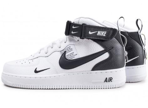 Nike Air Force 1 Mid 07 LV8 Utility blanche et noire