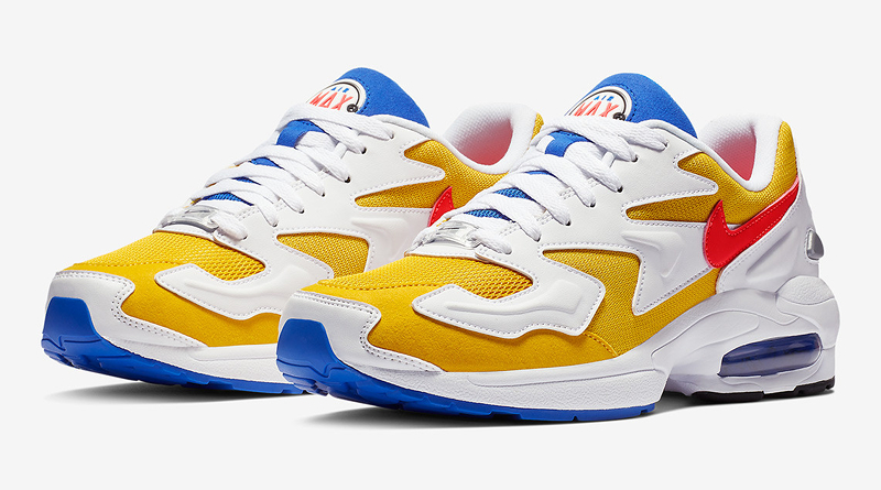 Nike Air Max2 Light ''University Gold/Flash Crimson''