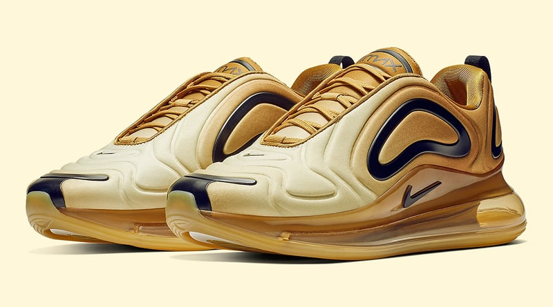 Nike Air Max 720 ''Gold'' Sneaker Style