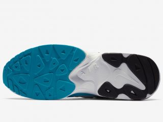 Nike Air Max2 Light ''White/Black/Blue Lagoon''