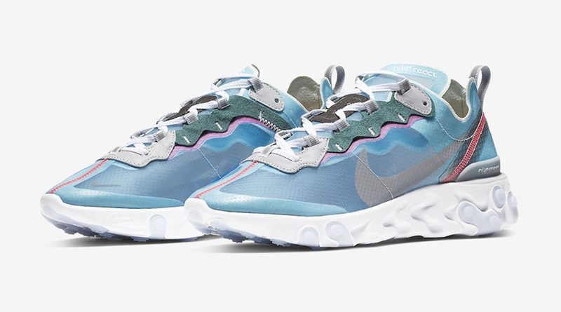 Nike React Element 87 ''Royal Tint'' Sneaker Style