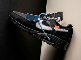 Off-WhiteNike Air Max 90 ''Black/Cone''