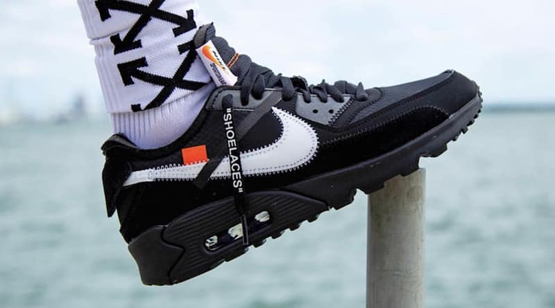 Off-White x Nike Air Max 90 ''Black/Cone''