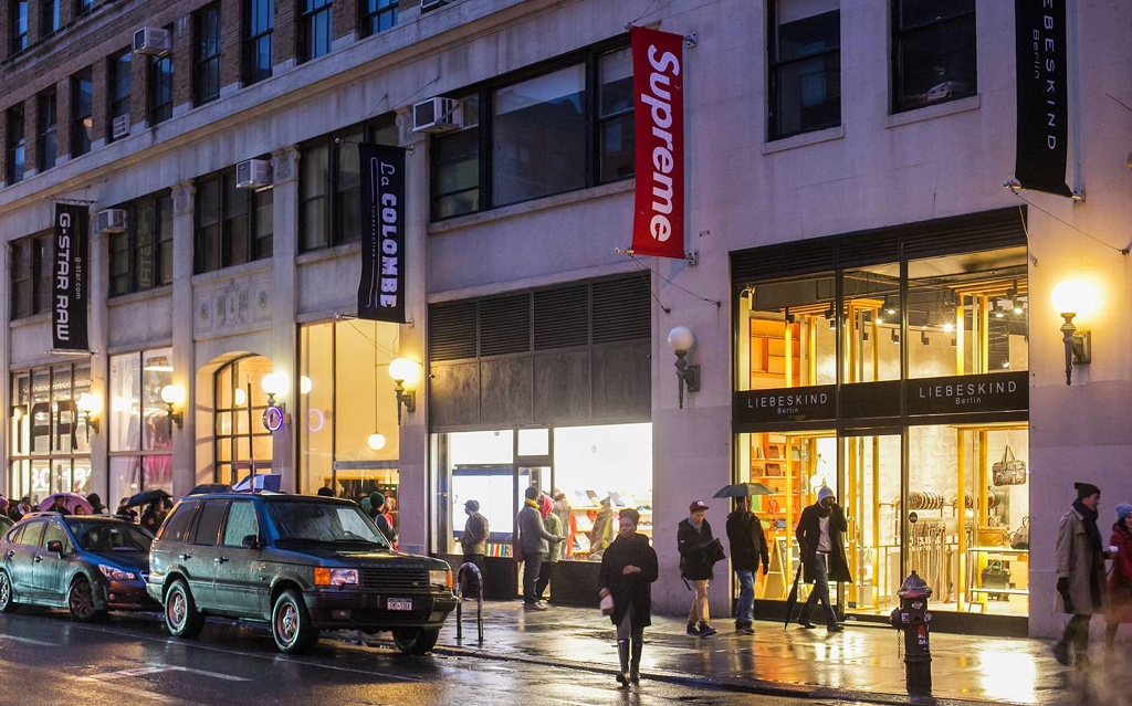 SUPREME, New York, Soho