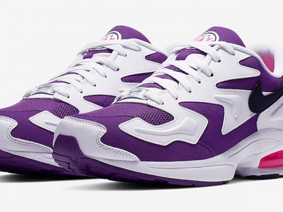 Nike Air Max2 Light ''White/Purple/Pink''