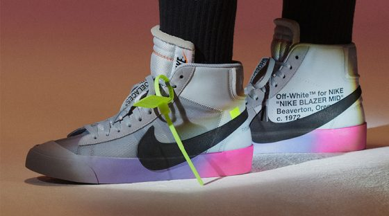 Serena Williams x Off-White x Nike Blazer Mid ''Queen''