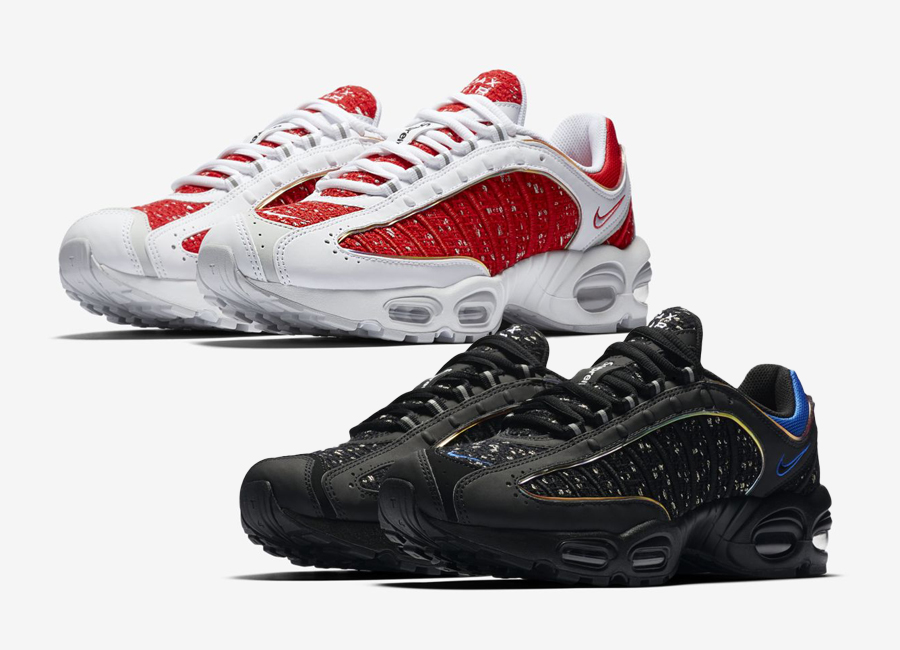 SUPREME x Nike Air Max Tailwind IV Sneaker Style