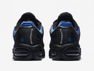 SUPREME x Nike Air Max Tailwind IV - Black/Blue