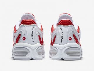 SUPREME x Nike Air Max Tailwind IV - White/Red