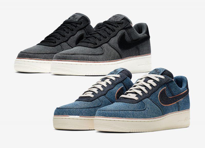 3x1 x Nike Air Force 1 ''Denim Pack''