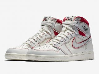 Air Jordan 1 Retro High OG ''Sail/Black-Phantom-University Red''